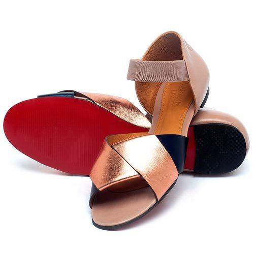 Laranja_Lima_Shoes_Sapatos_Femininos_Sapatilha_Peep_Toe_em_Couro_Multicolor_-_Codigo_-_56220_2