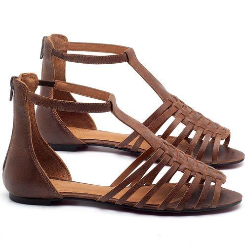 Laranja_Lima_Shoes_Sapatos_Femininos_Sapatilha_Peep_Toe_em_Couro_Marrom_-_Codigo_-_56145_1