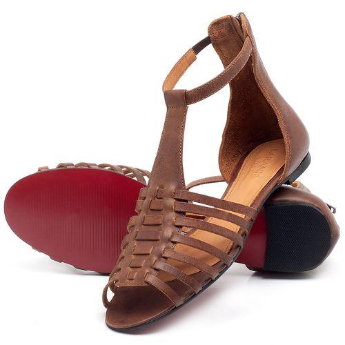 Laranja_Lima_Shoes_Sapatos_Femininos_Sapatilha_Peep_Toe_em_Couro_Marrom_-_Codigo_-_56145_2