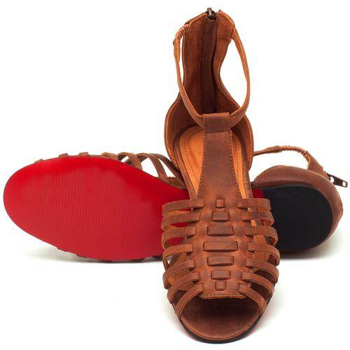 Laranja_Lima_Shoes_Sapatos_Femininos_Sapatilha_Peep_Toe_em_Couro_Caramelo_-_Codigo_-_56145_2