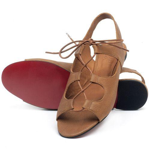 Laranja_Lima_Shoes_Sapatos_Femininos_Sapatilha_Peep_Toe_em_Couro_Caramelo_-_Codigo_-_56173_2