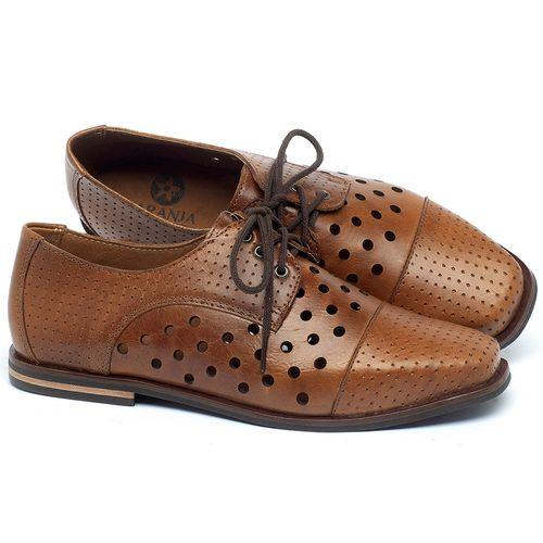 Laranja_Lima_Shoes_Sapatos_Femininos_Sapatilha_Bico_Quadrado_em_Couro_Caramelo_-_Codigo_-_136101_1