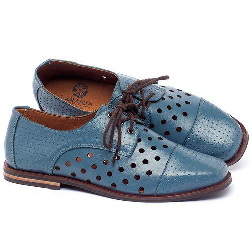 Laranja_Lima_Shoes_Sapatos_Femininos_Sapatilha_Bico_Quadrado_em_Couro_Azul_-_Codigo_-_136101_1