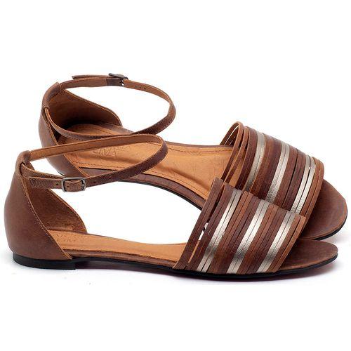 Laranja_Lima_Shoes_Sapatos_Femininos_Sapatilha_Peep_Toe_em_Couro_Caramelo_-_Codigo_-_56185_1