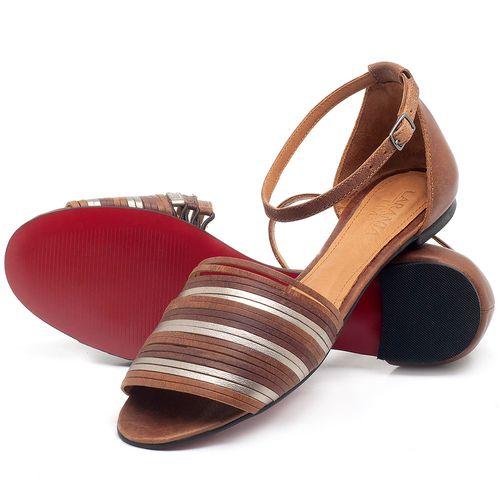 Laranja_Lima_Shoes_Sapatos_Femininos_Sapatilha_Peep_Toe_em_Couro_Caramelo_-_Codigo_-_56185_2