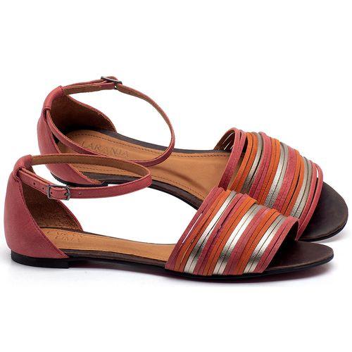 Laranja_Lima_Shoes_Sapatos_Femininos_Sapatilha_Peep_Toe_em_Couro_Vermelho_-_Codigo_-_56185_1