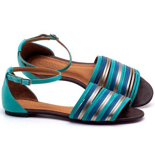 Laranja_Lima_Shoes_Sapatos_Femininos_Sapatilha_Peep_Toe_em_Couro_Azul_-_Codigo_-_56185_1