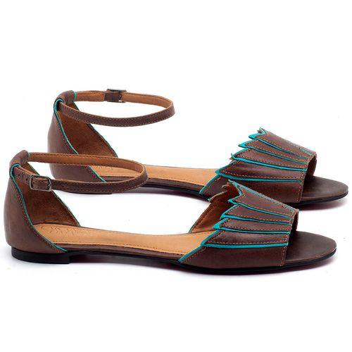 Laranja_Lima_Shoes_Sapatos_Femininos_Sapatilha_Peep_Toe_em_Couro_Marrom_-_Codigo_-_56187_1