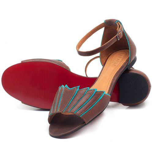 Laranja_Lima_Shoes_Sapatos_Femininos_Sapatilha_Peep_Toe_em_Couro_Marrom_-_Codigo_-_56187_2