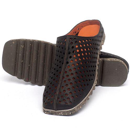 Laranja_Lima_Shoes_Sapatos_Femininos_Sandalia_Rasteira_Flat_em_Couro_Preto_-_Codigo_-_145056_2