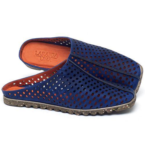 Laranja_Lima_Shoes_Sapatos_Femininos_Sandalia_Rasteira_Flat_em_Couro_Azul_-_Codigo_-_145056_1