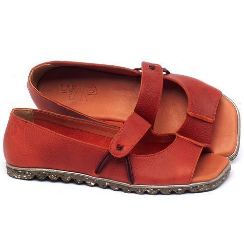 Laranja_Lima_Shoes_Sapatos_Femininos_Sapatilha_Peep_Toe_em_Couro_Vermelho_-_Codigo_-_145050_1