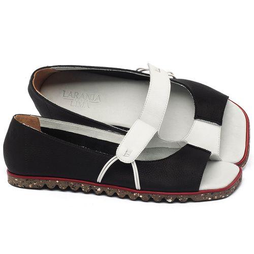 Laranja_Lima_Shoes_Sapatos_Femininos_Sapatilha_Peep_Toe_em_Couro_P_-_B_-_Codigo_-_145050_1
