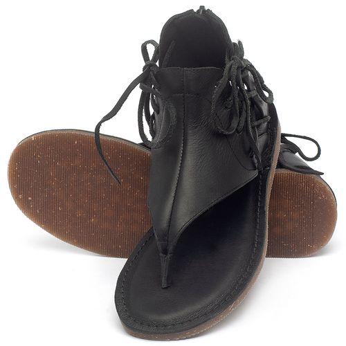 Laranja_Lima_Shoes_Sapatos_Femininos_Sandalia_Rasteira_Flat_em_Couro_Preto_-_Codigo_-_141114_2