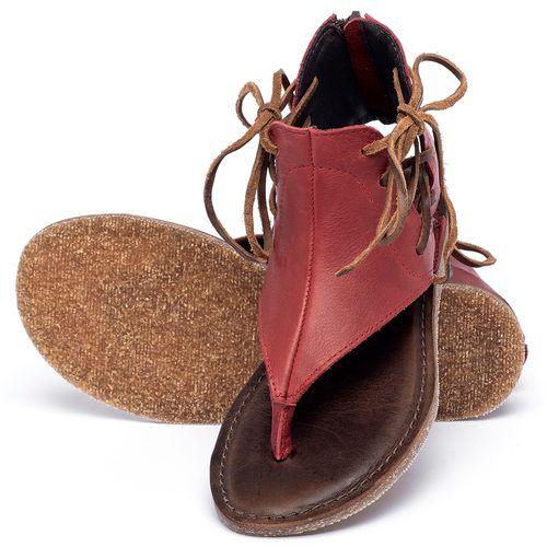 Laranja_Lima_Shoes_Sapatos_Femininos_Sandalia_Rasteira_Flat_em_Couro_Vermelho_-_Codigo_-_141114_2