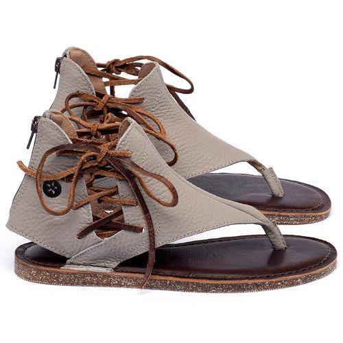 Laranja_Lima_Shoes_Sapatos_Femininos_Sandalia_Rasteira_Flat_em_Couro_Cinza_-_Codigo_-_141114_1