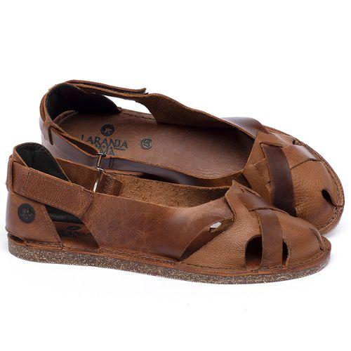 Laranja_Lima_Shoes_Sapatos_Femininos_Sandalia_Rasteira_Flat_em_Couro_Caramelo_-_Codigo_-_141059_1