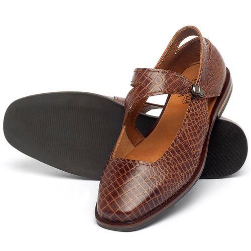 Laranja_Lima_Shoes_Sapatos_Femininos_Sapatilha_Bico_Quadrado_em_Couro_Marrom_-_Codigo_-_136091_2