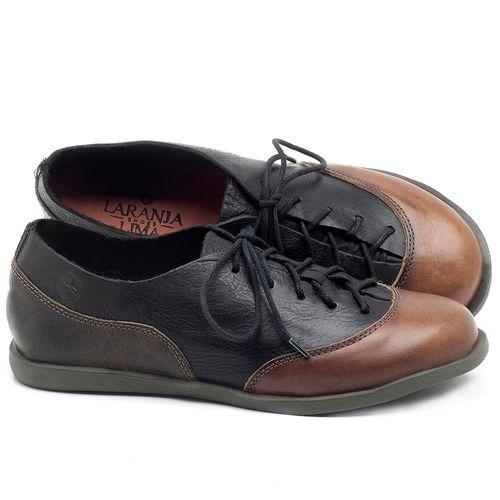 Laranja_Lima_Shoes_Sapatos_Femininos_Flat_Shoes_em_Couro_Preto_-_Codigo_-_137224_1