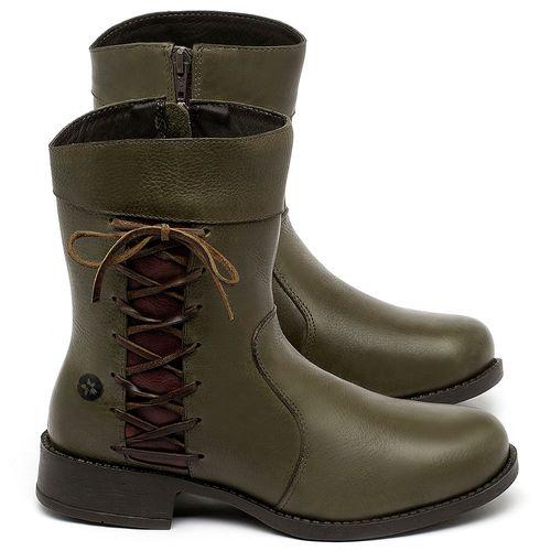 Laranja_Lima_Shoes_Sapatos_Femininos_Bota_Cano_Medio_em_Couro_Verde_-_Codigo_-_141187_1
