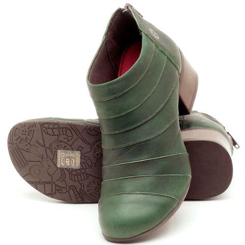 Laranja_Lima_Shoes_Sapatos_Femininos_Bota_Cano_Curto_Salto_de_5_cm_em_Couro_Verde_-_Codigo_-_137162_2