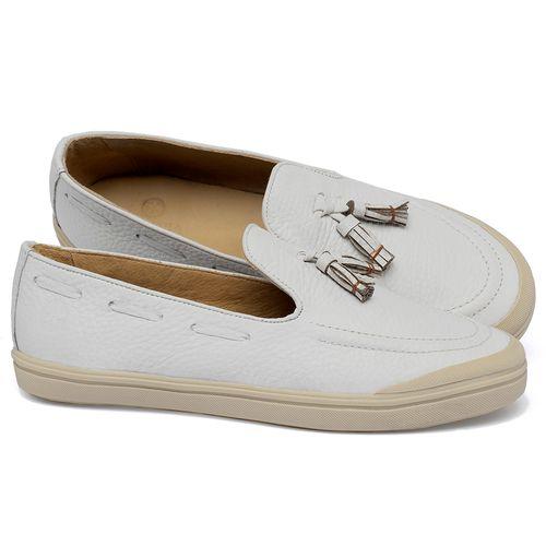Laranja_Lima_Shoes_Sapatos_Femininos_Tenis_Cano_Baixo_em_Couro_Off-White_-_Codigo_-_3751_1