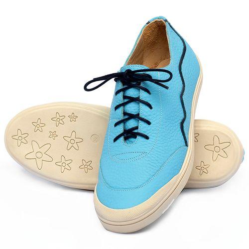 Laranja_Lima_Shoes_Sapatos_Femininos_Tenis_Cano_Baixo_em_Couro_Azul_-_Codigo_-_3752_2