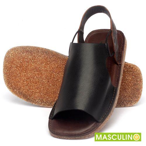 Laranja_Lima_Shoes_Sapatos_Masculinos_Rasteira_em_Couro_Preto_-_Codigo_-_141178_2