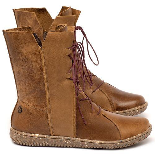 Laranja_Lima_Shoes_Sapatos_Femininos_Flat_Boot_em_Couro_Marrom_-_Codigo_-_137324_1