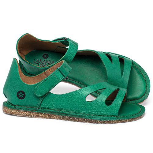 Laranja_Lima_Shoes_Sapatos_Femininos_Sandalia_Rasteira_Flat_em_Couro_Verde_-_Codigo_-_141054_1