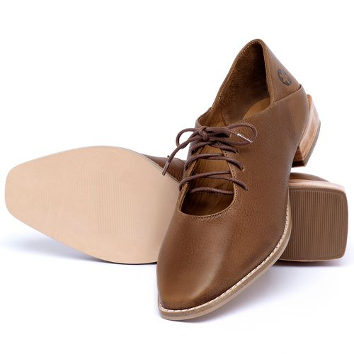 Laranja_Lima_Shoes_Sapatos_Femininos_Sapato_Laranja_Lima_Shoes_em_Couro_Caramelo_-_Codigo_-_9497_2