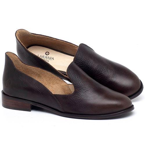 Laranja_Lima_Shoes_Sapatos_Femininos_Sapato_Laranja_Lima_Shoes_Salto_de_2_cm_em_Couro_Cafe_-_Codigo_-_9467_1