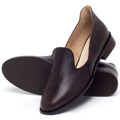 Laranja_Lima_Shoes_Sapatos_Femininos_Sapato_Laranja_Lima_Shoes_Salto_de_2_cm_em_Couro_Cafe_-_Codigo_-_9467_2