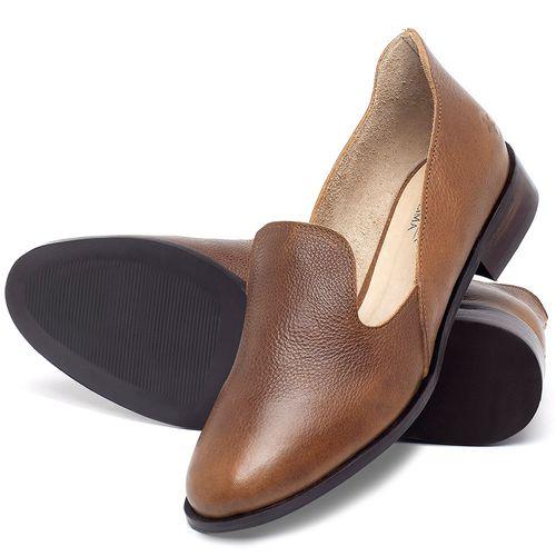 Laranja_Lima_Shoes_Sapatos_Femininos_Sapato_Laranja_Lima_Shoes_Salto_de_2_cm_em_Couro_Caramelo_-_Codigo_-_9467_2