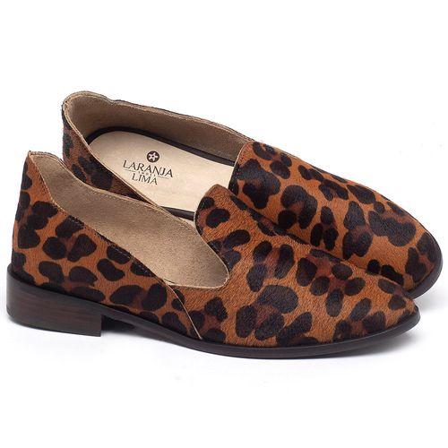 Laranja_Lima_Shoes_Sapatos_Femininos_Sapato_Laranja_Lima_Shoes_Salto_de_2_cm_em_Couro_Onca_-_Codigo_-_9467_1