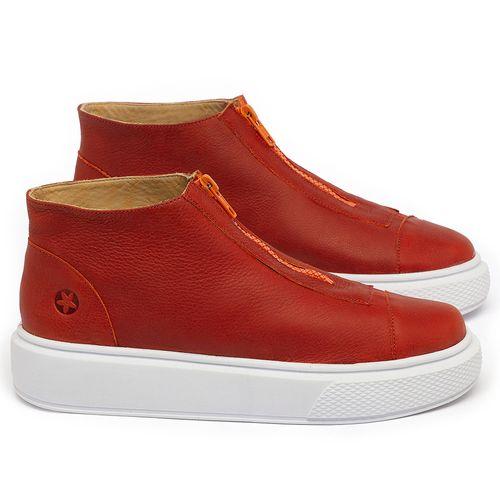 Laranja_Lima_Shoes_Sapatos_Femininos_Tenis_Cano_Alto_em_Couro_Vermelho_-_Codigo_-_3750_1