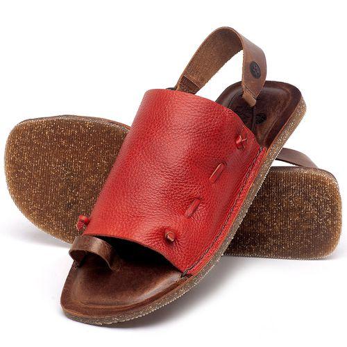 Laranja_Lima_Shoes_Sapatos_Femininos_Sandalia_Rasteira_Flat_em_Couro_Vermelho_-_Codigo_-_141154_2