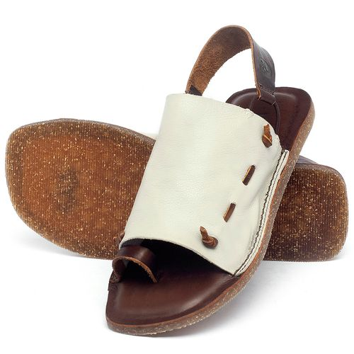 Laranja_Lima_Shoes_Sapatos_Femininos_Sandalia_Rasteira_Flat_em_Couro_Off-White_-_Codigo_-_141154_2