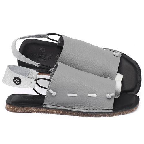 Laranja_Lima_Shoes_Sapatos_Femininos_Sandalia_Rasteira_Flat_em_Couro_Cinza_-_Codigo_-_141154_1