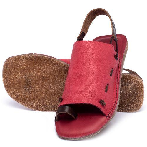 Laranja_Lima_Shoes_Sapatos_Femininos_Sandalia_Rasteira_Flat_em_Couro_Rosa_-_Codigo_-_141154_2