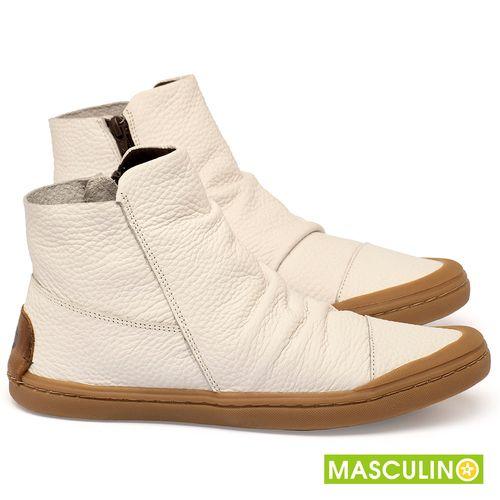 Laranja_Lima_Shoes_Sapatos_Masculinos_Tenis_Masculino_Cano_Alto_em_Couro_Off-White_-_Codigo_-_141197_1