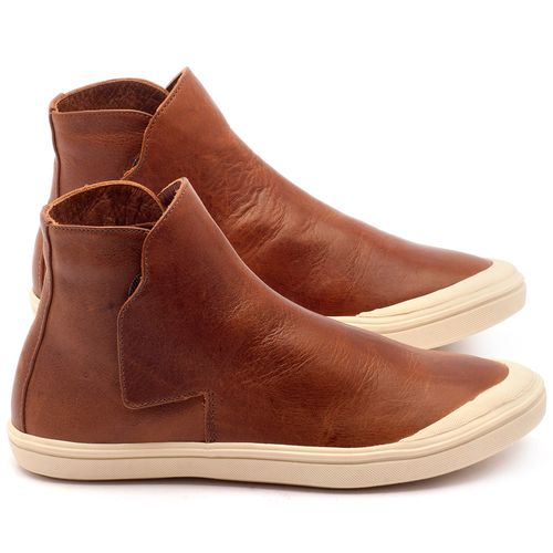 Laranja_Lima_Shoes_Sapatos_Femininos_Tenis_Cano_Alto_em_Couro_Caramelo_-_Codigo_-_56092_1