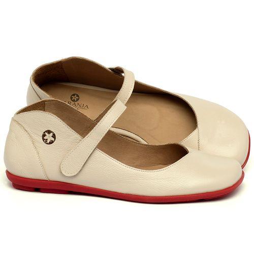 Laranja_Lima_Shoes_Sapatos_Femininos_Sapatilha_Bico_Quadrado_em_Couro_Off-White_-_Codigo_-_9495_1