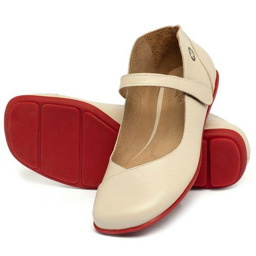 Laranja_Lima_Shoes_Sapatos_Femininos_Sapatilha_Bico_Quadrado_em_Couro_Off-White_-_Codigo_-_9495_2