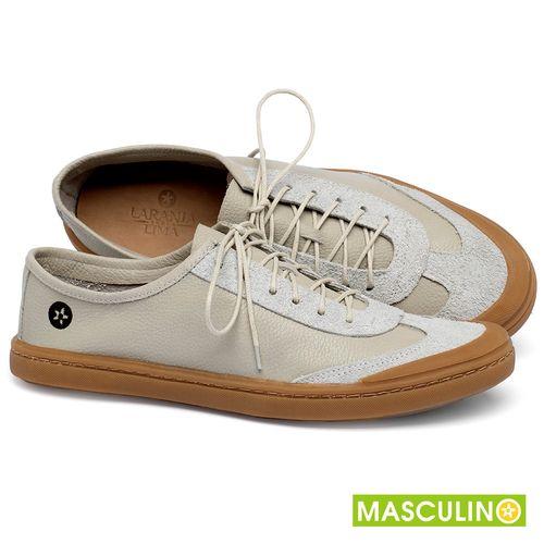 Laranja_Lima_Shoes_Sapatos_Masculinos_Tenis_Masculino_Cano_Baixo_em_Couro_Off-White_-_Codigo_-_141177_1