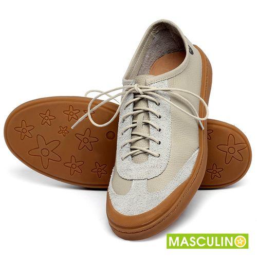 Laranja_Lima_Shoes_Sapatos_Masculinos_Tenis_Masculino_Cano_Baixo_em_Couro_Off-White_-_Codigo_-_141177_2