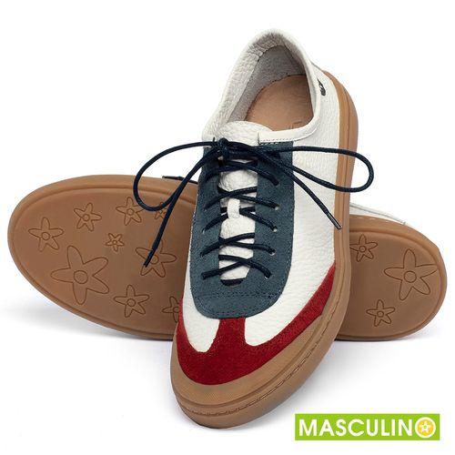 Laranja_Lima_Shoes_Sapatos_Masculinos_Tenis_Masculino_Cano_Baixo_em_Couro_Multicolor_-_Codigo_-_141177_2