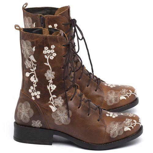 Laranja_Lima_Shoes_Sapatos_Femininos_Bota_Cano_Curto_Salto_de_2_cm_em_Couro_Caramelo_-_Codigo_-_141084_1