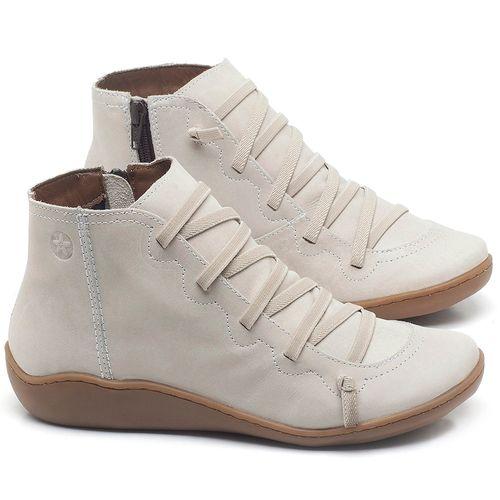 Laranja_Lima_Shoes_Sapatos_Femininos_Tenis_Cano_Alto_em_Couro_Off-White_-_Codigo_-_139028_1