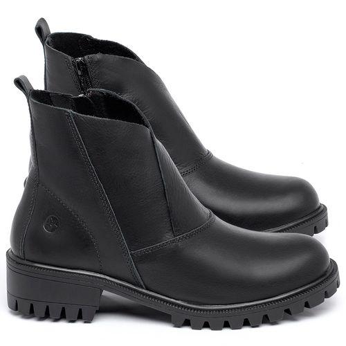 Laranja_Lima_Shoes_Sapatos_Femininos_Bota_Cano_Curto_em_Couro_Preto_-_Codigo_-_137238_1